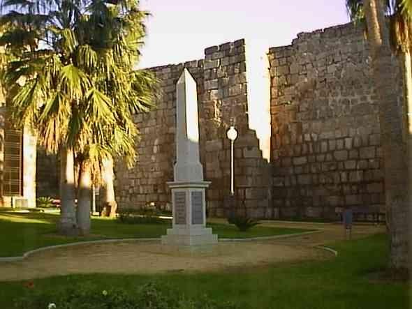 obelisco en plaza de las meridas del mundo