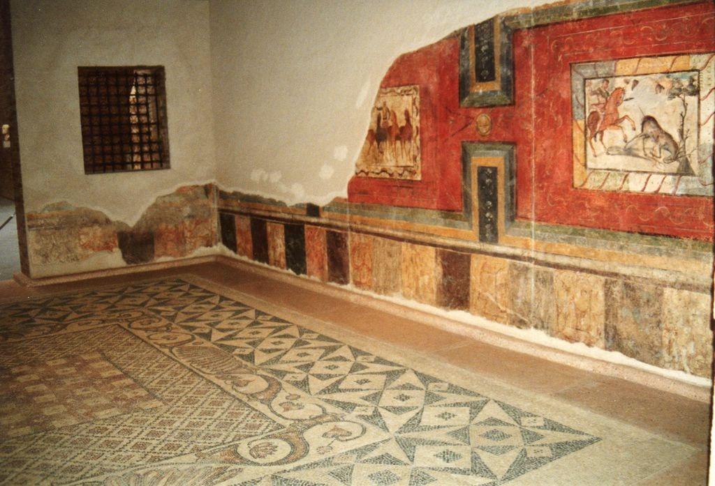 detalle casa romana en merida
