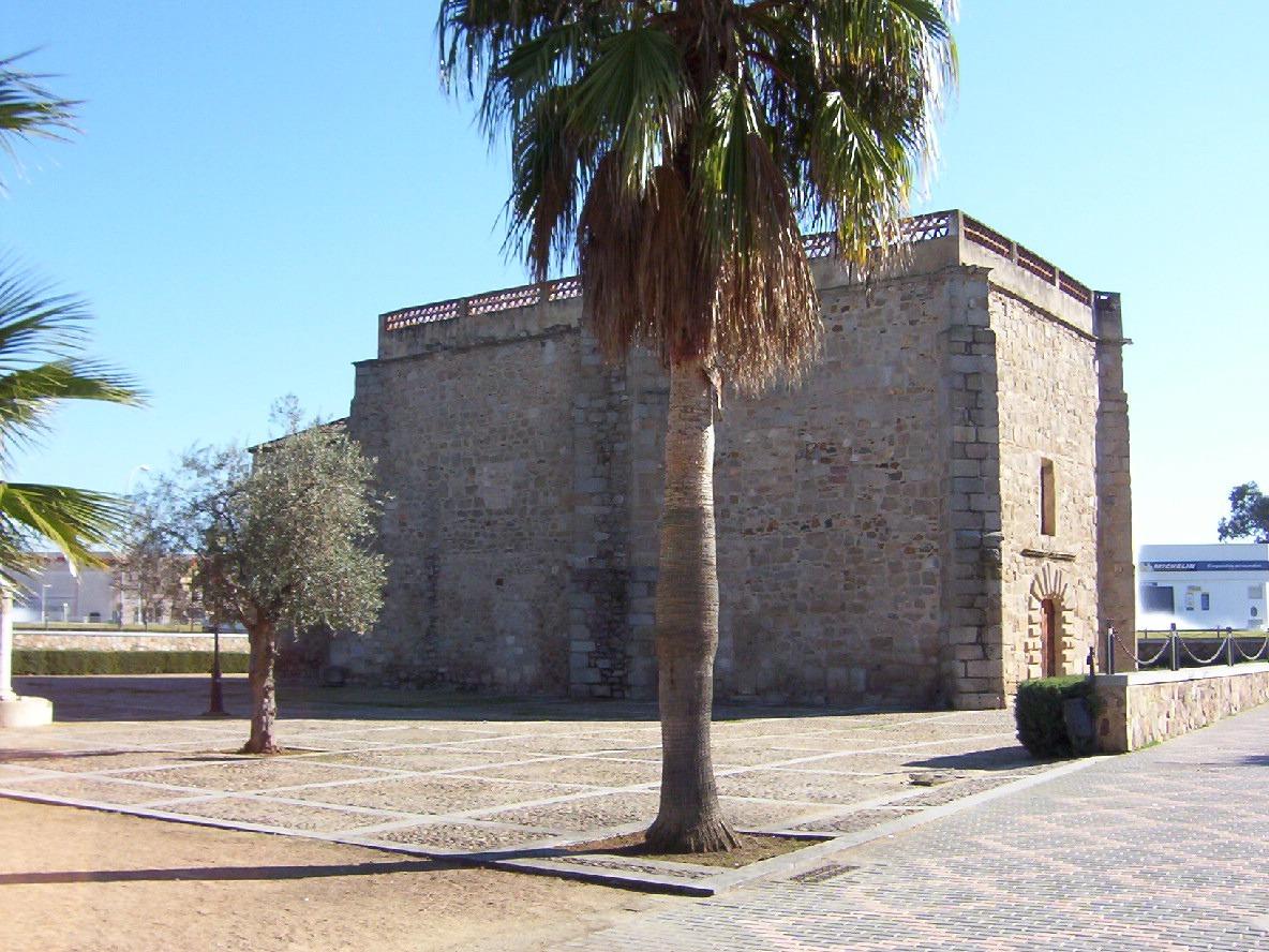 ermita medieval ntra.sra de la antigua en merida