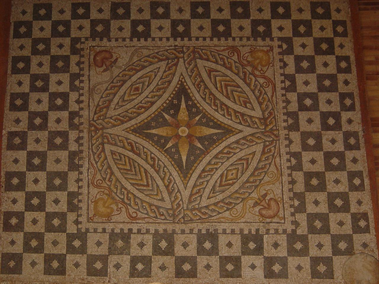 mosaico museo romano de merida