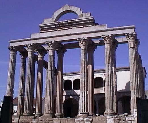 vista templo de diana