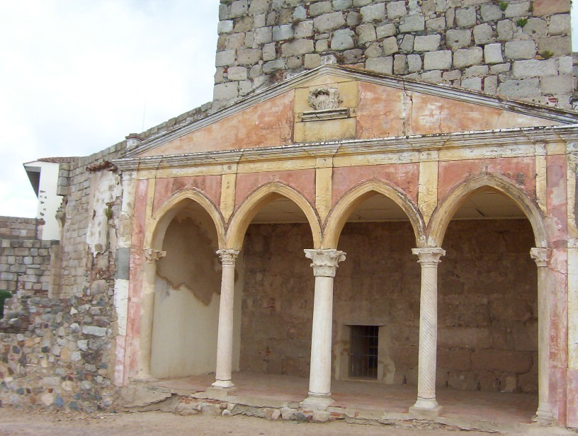 detalle alcazaba arabe de merida