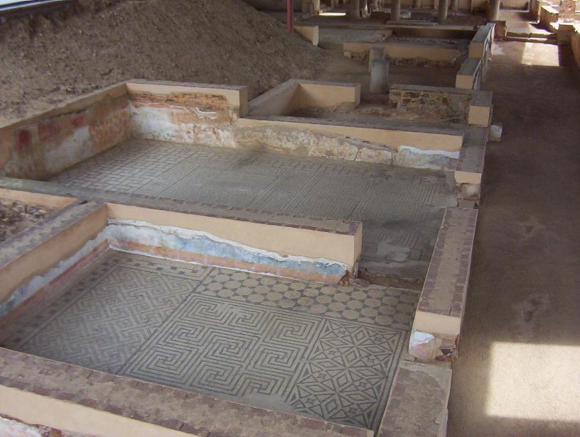 detalle domus Mitraeo