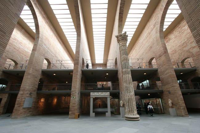 sala principal museo romano de merida