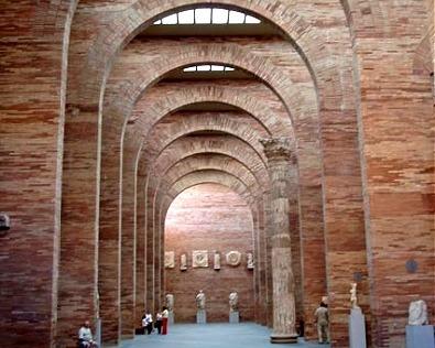 vista sala principal museo romano de merida